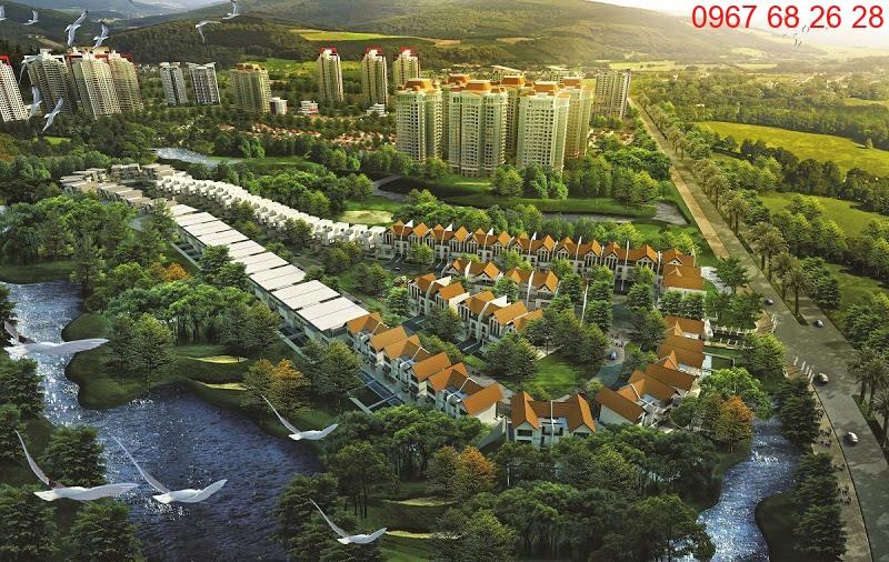 Phối cảnh khu đô thị mới Nam Thăng Long