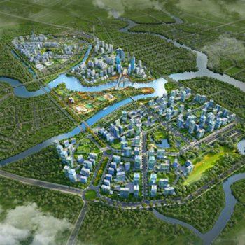 Thành phố thu nhỏ 350ha tạo sức bật cho vùng đô thị Nam Sài Gòn